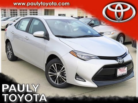 New 2017 Toyota Corolla LE FWD 4D Sedan