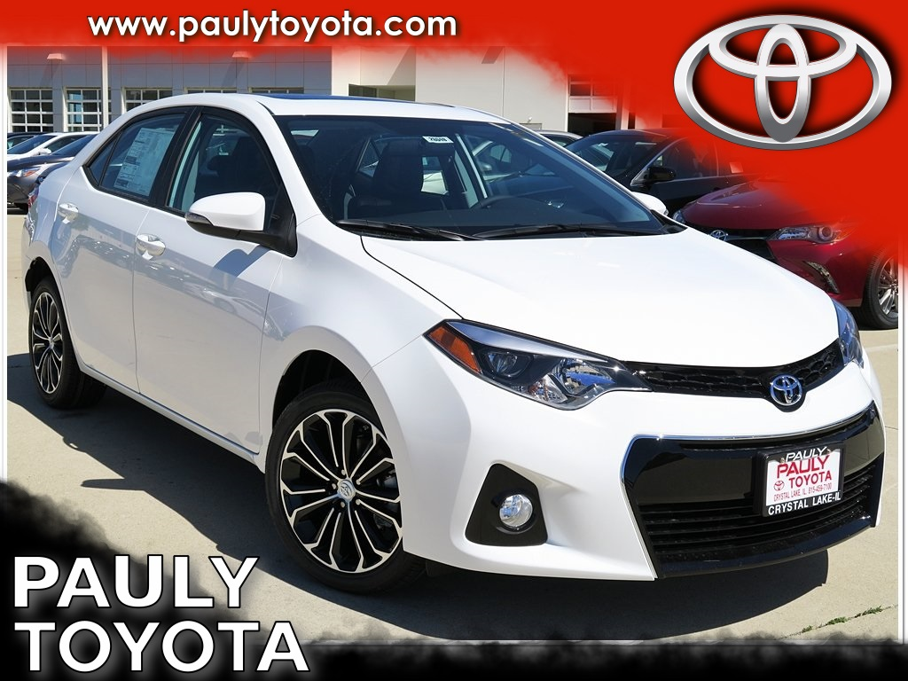 New 2016 Toyota Corolla S Plus