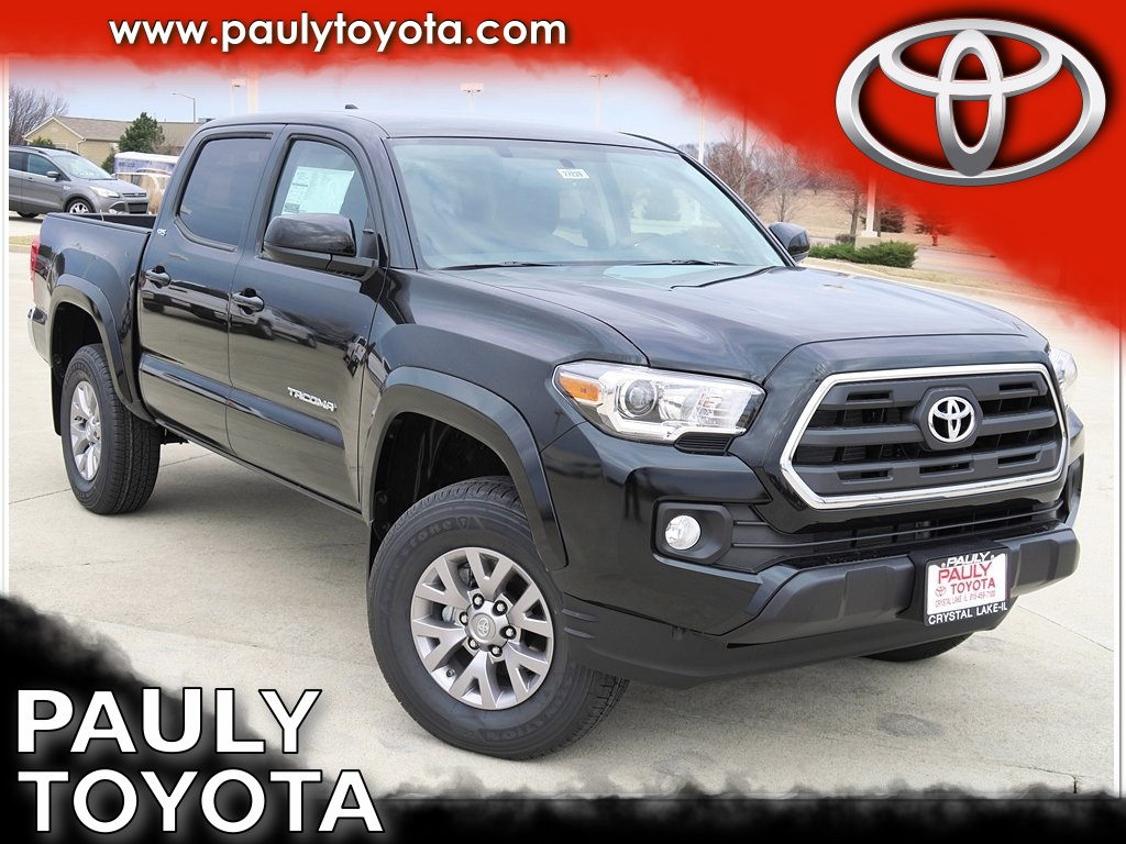 new 2017 toyota tacoma sr5 4d double cab in crystal lake ta27239 pauly toyota. Black Bedroom Furniture Sets. Home Design Ideas