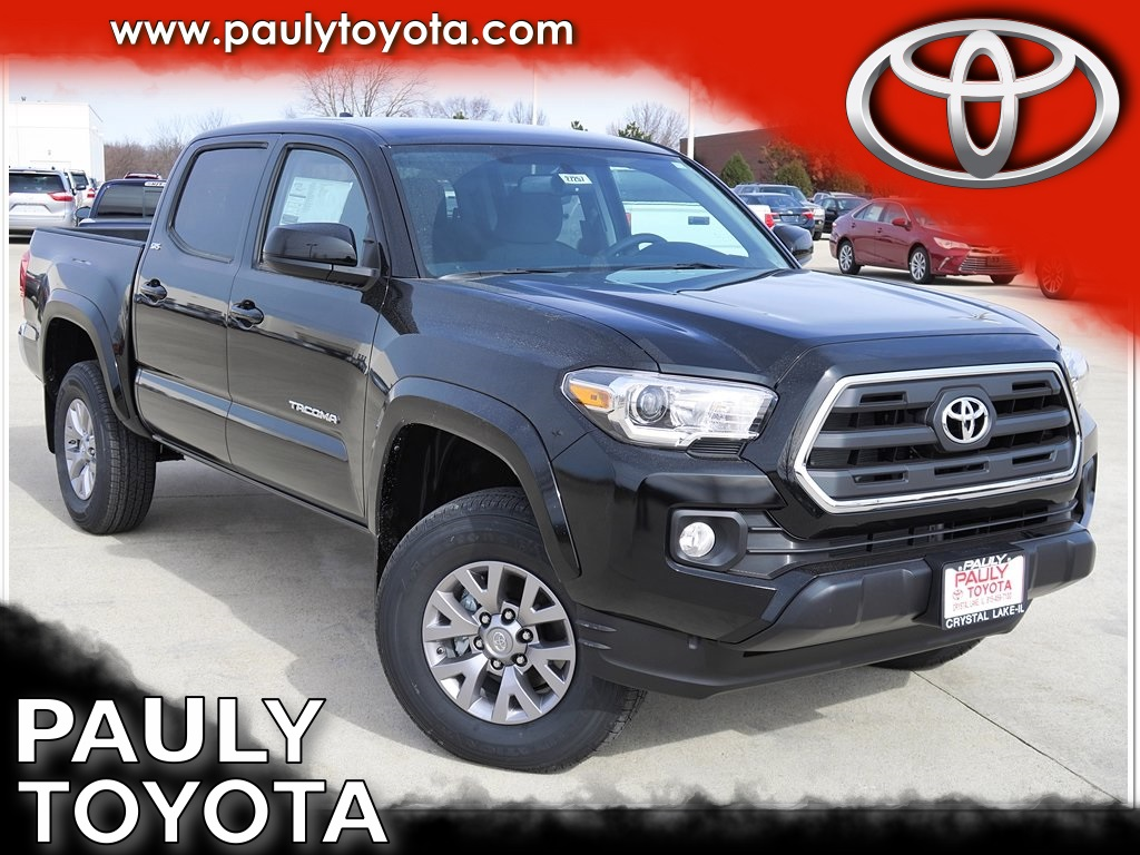 new 2017 toyota tacoma sr5 4d double cab in crystal lake ta27257 pauly toyota. Black Bedroom Furniture Sets. Home Design Ideas