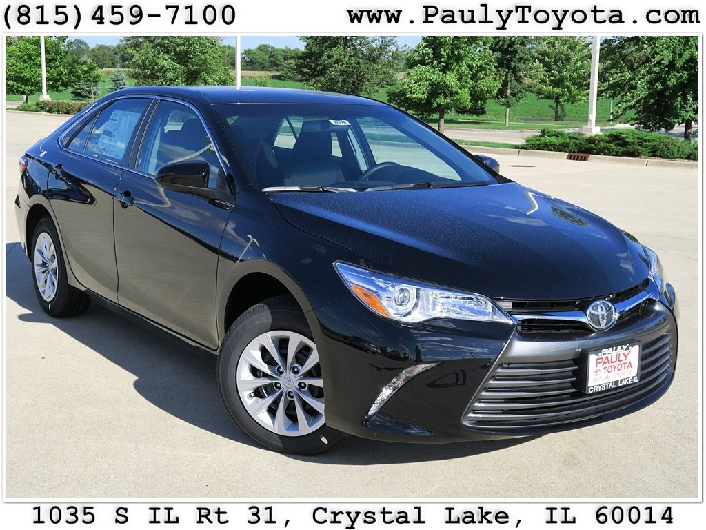 New 2017 Toyota Camry Le 4d Sedan In Crystal Lake Ca26476