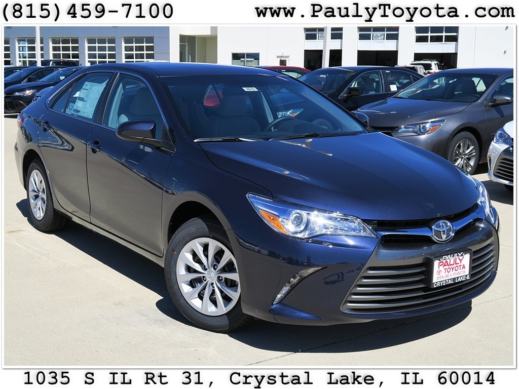 New 2017 Toyota Camry 4d Sedan In Crystal Lake Ca26373
