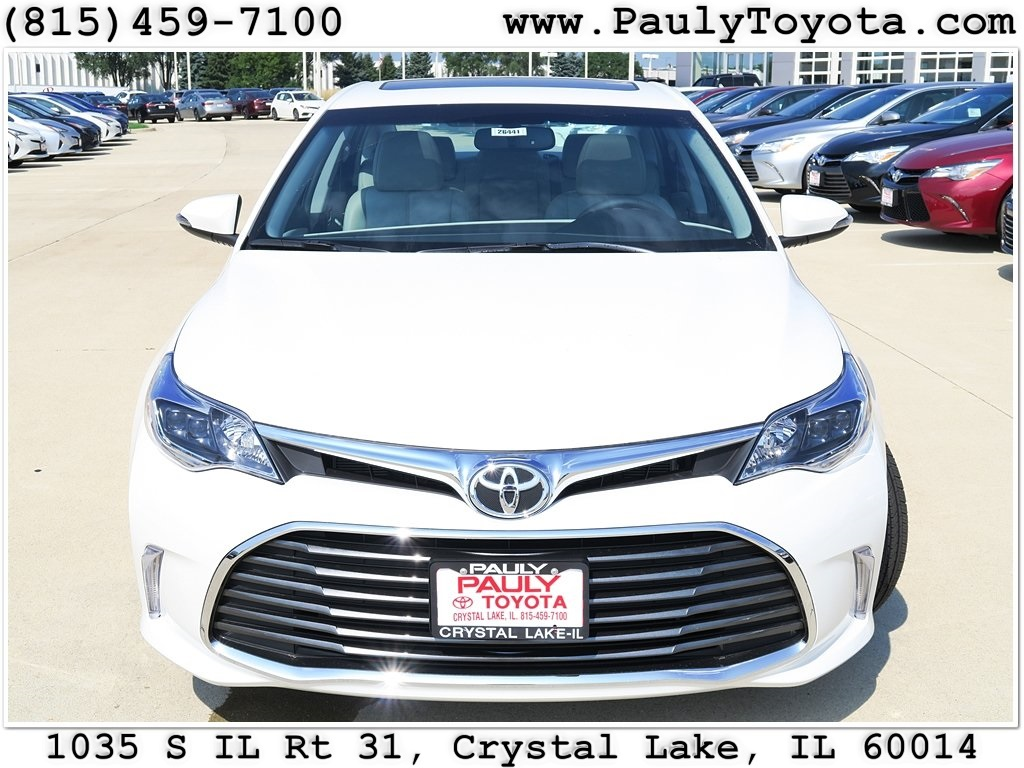 new 2016 toyota avalon 4d sedan in crystal lake av26441. Black Bedroom Furniture Sets. Home Design Ideas