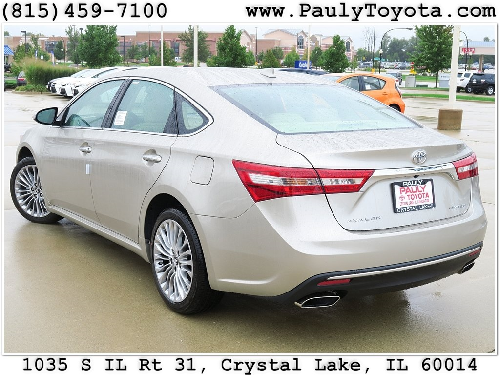 new 2016 toyota avalon 4d sedan in crystal lake av26562. Black Bedroom Furniture Sets. Home Design Ideas