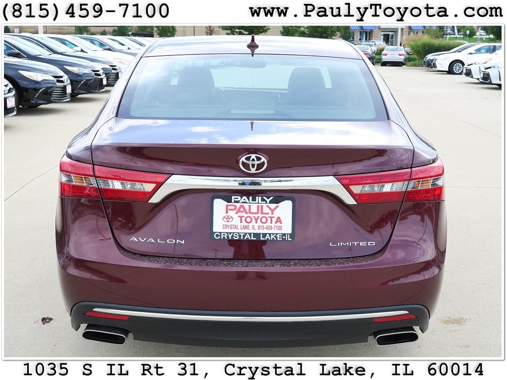 new 2016 toyota avalon limited 4d sedan in crystal lake. Black Bedroom Furniture Sets. Home Design Ideas