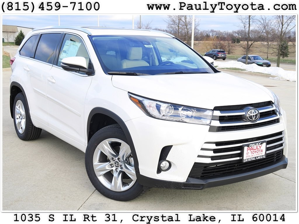 New 2017 Toyota Highlander Limited 4d Sport Utility In