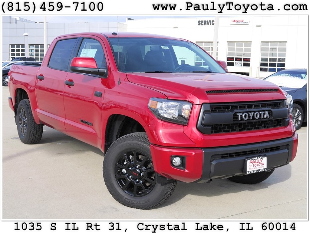 new 2017 toyota tundra trd pro 4d crewmax in crystal lake. Black Bedroom Furniture Sets. Home Design Ideas