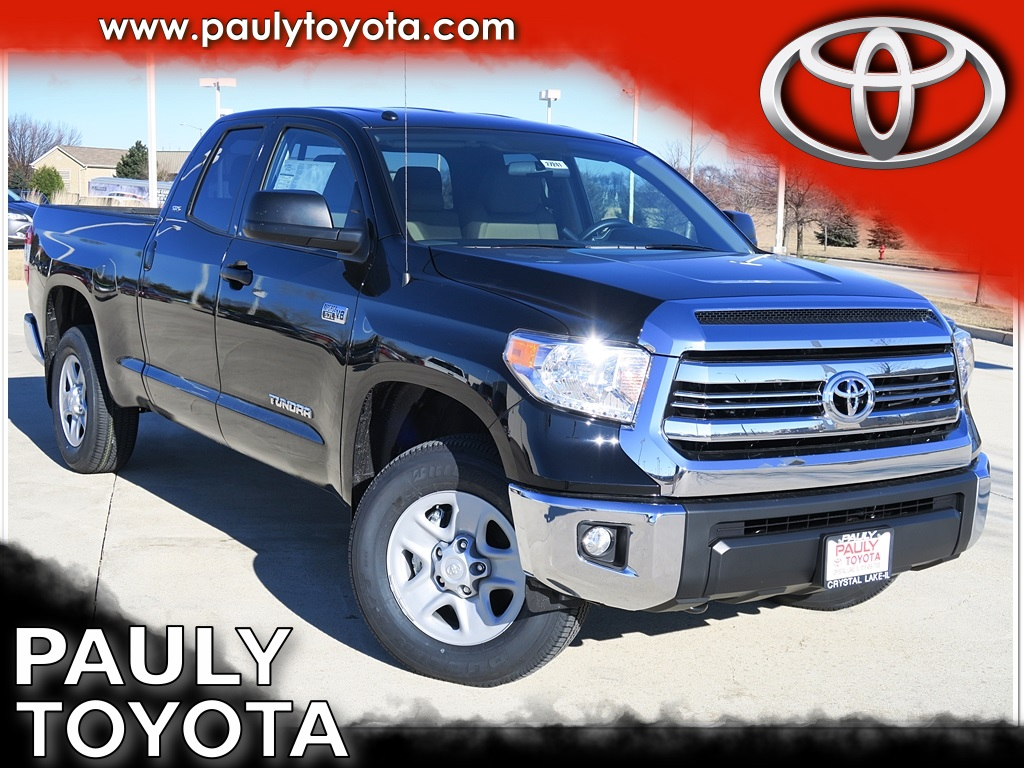 New 2017 Toyota Tundra Sr5 4d Double Cab In Crystal Lake