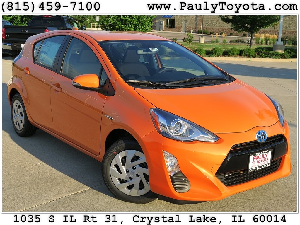 new 2016 toyota prius c two 5d hatchback in crystal lake pr26223 pauly toyota. Black Bedroom Furniture Sets. Home Design Ideas