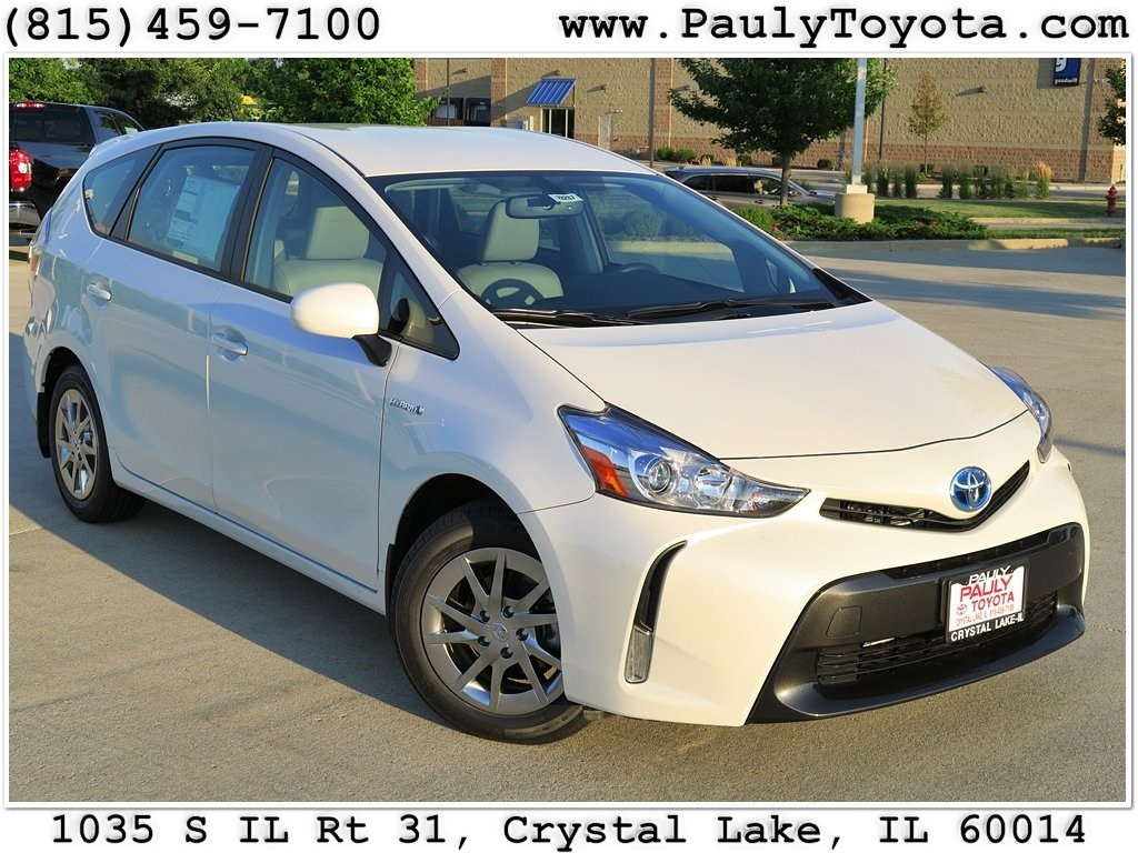 new 2017 toyota prius v four station wagon in crystal lake pr26267 pauly toyota. Black Bedroom Furniture Sets. Home Design Ideas