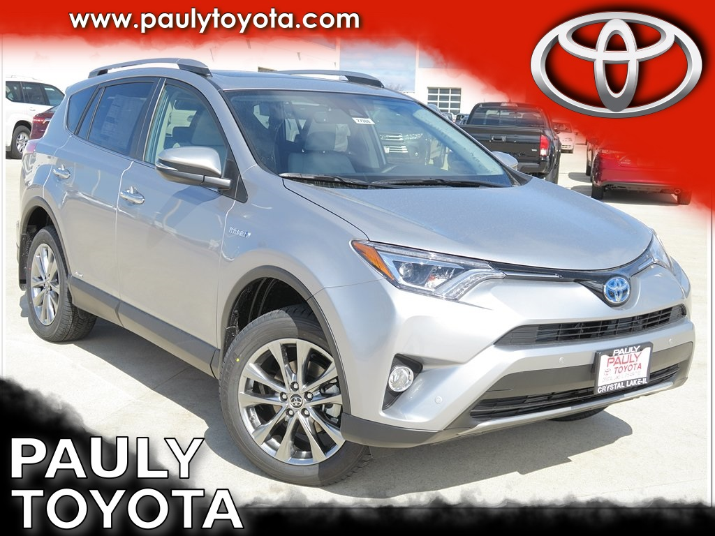 new 2017 toyota rav4 hybrid limited 4d sport utility in crystal lake r27366 pauly toyota. Black Bedroom Furniture Sets. Home Design Ideas