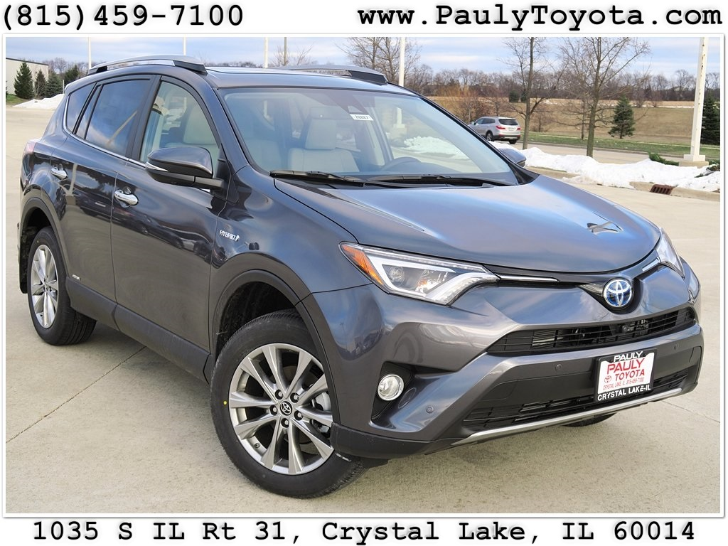 new 2017 toyota rav4 hybrid limited 4d sport utility in crystal lake r26887 pauly toyota. Black Bedroom Furniture Sets. Home Design Ideas